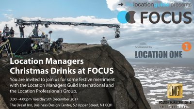 Location Managers Holiday Drinks at FOCUS @ The Dresd Inn, Business Design Centre | England | United Kingdom