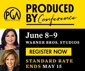 Produced By Conference, Burbank California @ Warner Brothers Studios, Burbank, CA